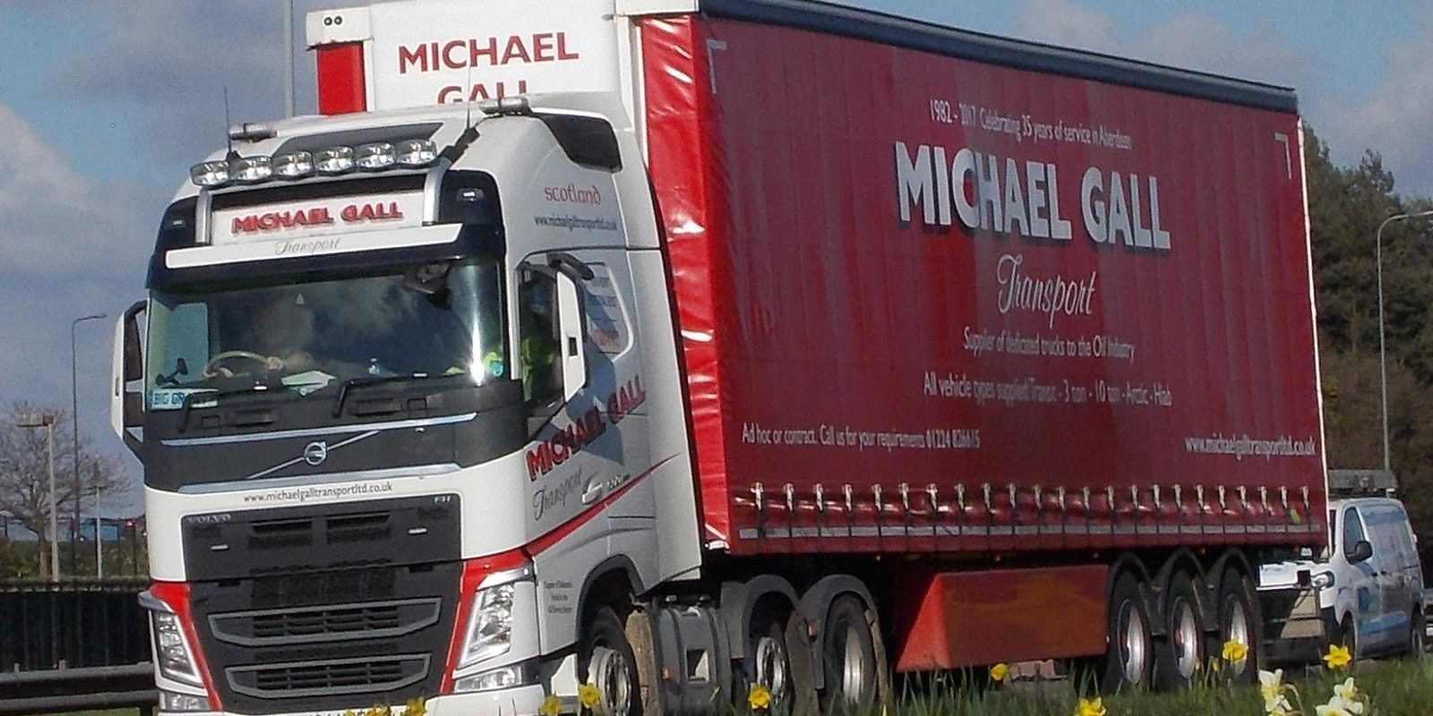 Michael Gall transport lorry