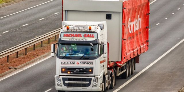 Michael Gall transport lorry